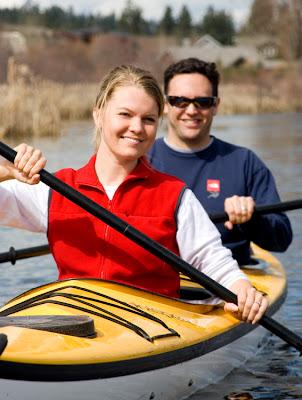 Deschutes River Kayaks Professional Stock Photographer