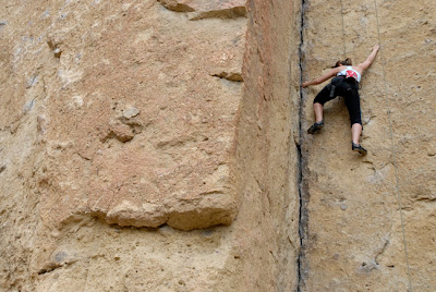 Smith Rock Professional Stock Photographer Rock Climbing