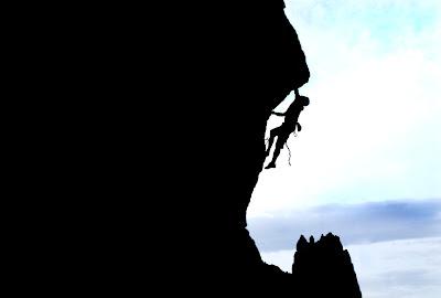 Climbing Smith Rock Stock Photography