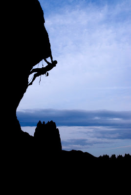 Climbing Smith Rock Professional Stock Photographer