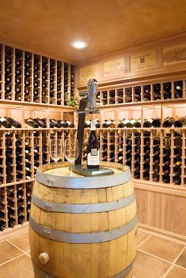 oregon residence wine cellar photographer