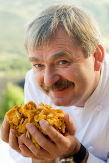 Geilo Norway Chef with Mushrooms professional Photographer