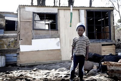 Red Hill Post 2008 Fire South Africa Photo Journalism Photographer