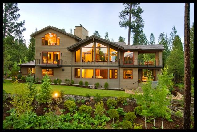 Atkins Residence, Black Butte Ranch, Oregon 2009