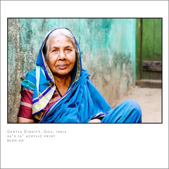 gentle dignity Indian Woman travel photographer
