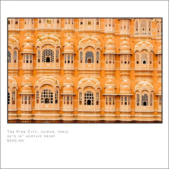 pink city Jaipur india U.S.  travel photographer