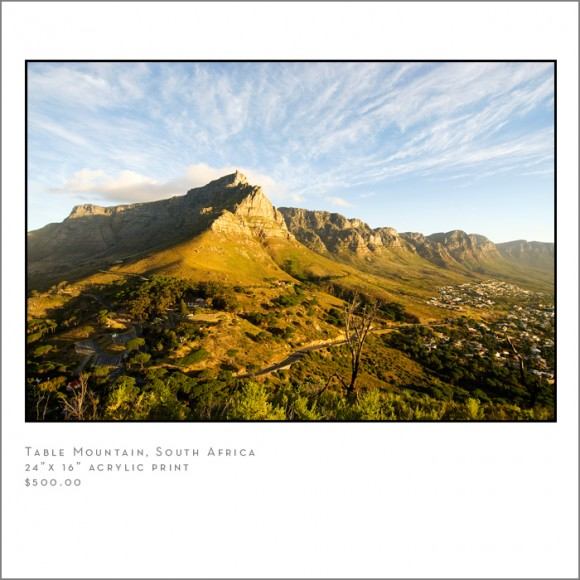 table mountain cape town s.a. travel photographer