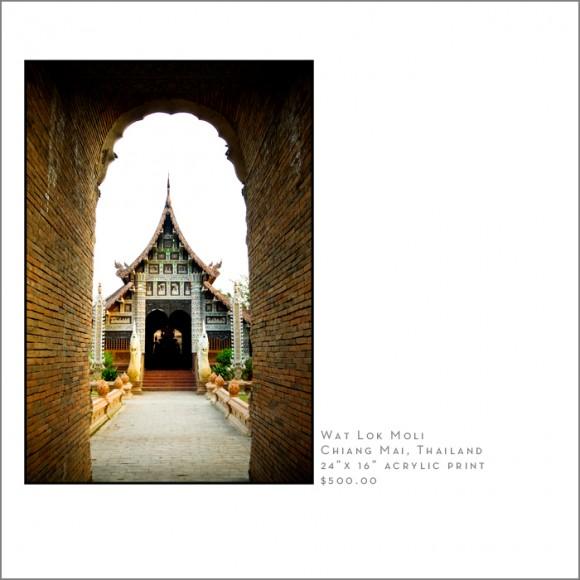 wat lok moli Chaing Mai Thailand Photographry