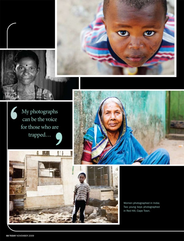 United States African Indian Photo Journalist Paula Watts