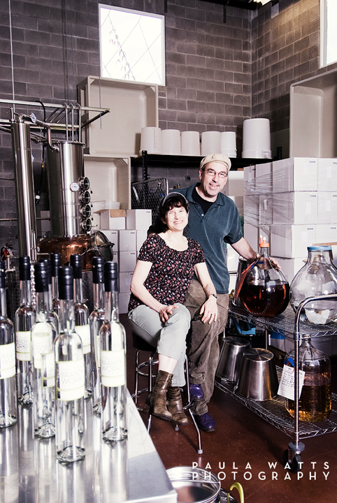 Portland Brandy Works Distillery Photographer