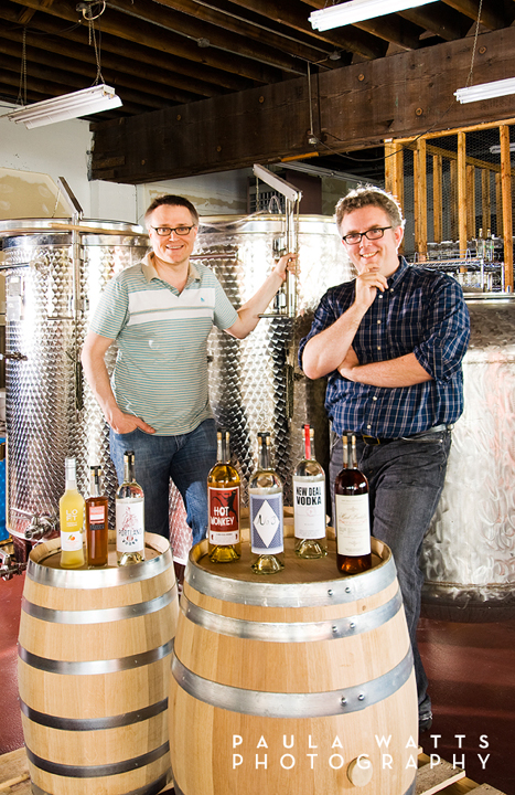Portland New Deal Distillery Professional Photography