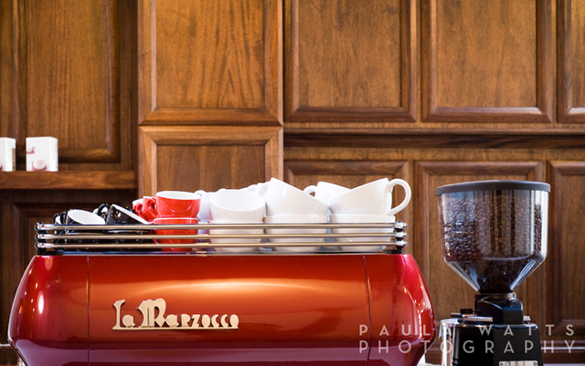 la marzocco professional coffee photographer oregon