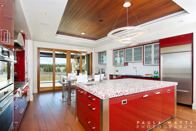 The Bold And Beautiful Residence Bend Oregon Architectural Photographer