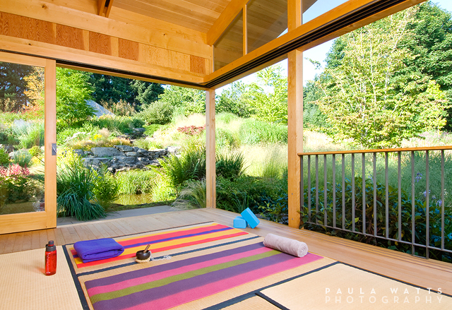 yoga studio Portland Oregon architectural interior