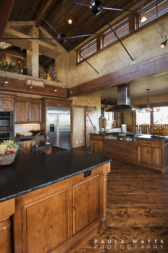 Kitchen professional photographer Oregon Rustic