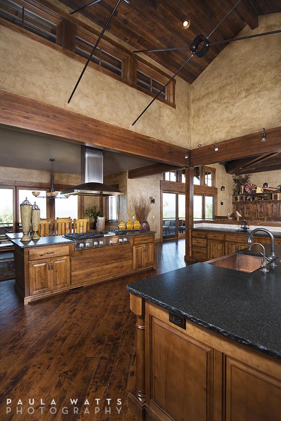 professional architectural photographer Bend Oregon kitchen interiors