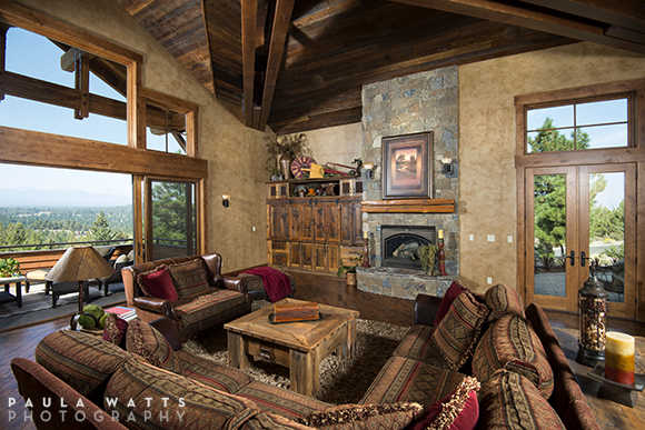 Bend Oregon interior photographer Residential