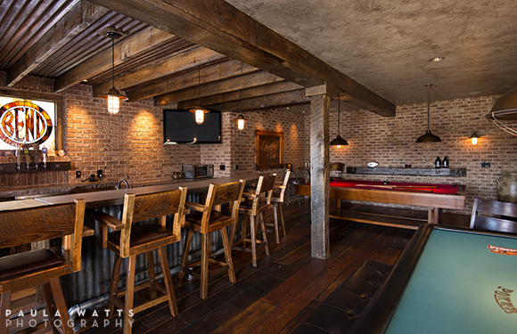 professional photographer, Oregon, interior residence bar