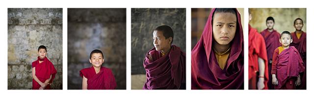 Buddhist Tibetan Monks Dharamsala India