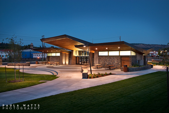 exterior building architectural photographer Oregon Portland Dalles Bend